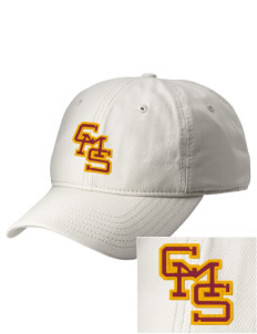 Claremont-Mudd-Scripps Men's Athletics Stags  Embroidered New Era Adjustable Unstructured Cap