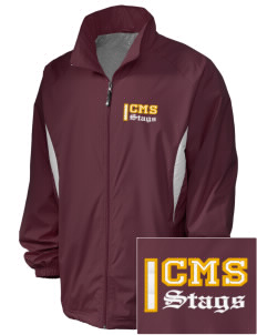 Claremont-Mudd-Scripps Men's Athletics Stags Embroidered Holloway Men's Full-Zip Jacket