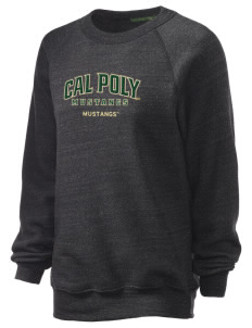 California Polytechnic State University Mustangs Unisex Alternative Eco-Fleece Raglan Sweatshirt