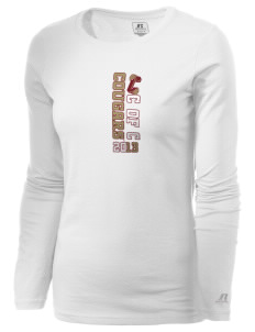 College of Charleston Cougars  Russell Women's Long Sleeve Campus T-Shirt