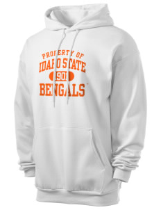 Idaho State University Bengals Men's 7.8 oz Lightweight Hooded Sweatshirt