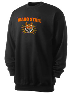 Idaho State University Bengals Men's 7.8 oz Lightweight Crewneck Sweatshirt