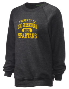 The University of North Carolina at Greensboro Spartans Unisex Alternative Eco-Fleece Raglan Sweatshirt