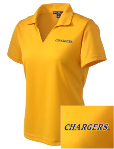 University of New Haven Chargers Embroidered Women's Dri Mesh Polo