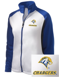 University of New Haven Chargers Embroidered Holloway Women's Reaction Tri-Color Jacket