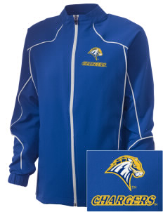 University of New Haven Chargers Embroidered Russell Women's Full Zip Jacket