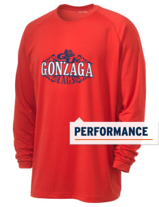 Gonzaga University Bulldogs Men's Ultimate Performance Long Sleeve T-Shirt