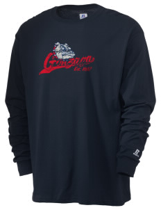 Gonzaga University Bulldogs  Russell Men's Long Sleeve T-Shirt