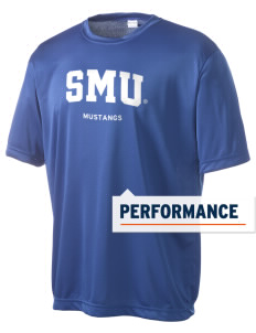 Southern Methodist University Mustangs Men's Competitor Performance T-Shirt