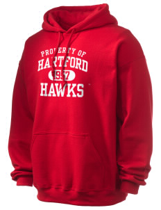 University of Hartford Hawks Ultra Blend 50/50 Hooded Sweatshirt