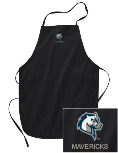 Mercy College Mavericks Embroidered Full Length Apron