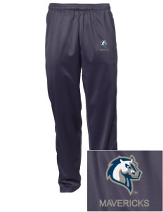 Mercy College Mavericks Embroidered Men's Tricot Track Pants