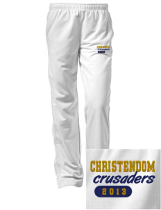 Christendom College Crusaders Embroidered Women's Tricot Track Pants