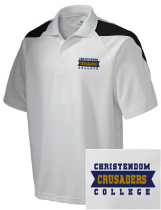 Christendom College Crusaders Embroidered Holloway Men's Frequency Performance Pique Polo