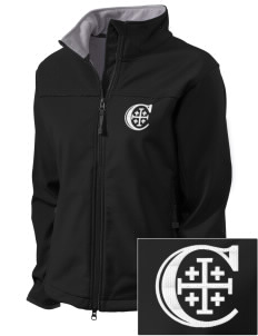 Christendom College Crusaders Embroidered Women's Glacier Soft Shell Jacket