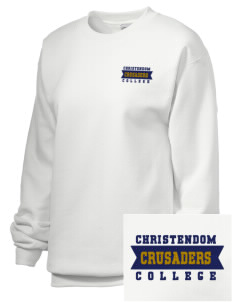 Christendom College Crusaders Embroidered Unisex Crewneck Sweatshirt