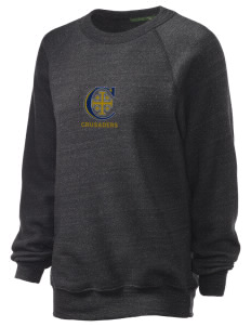 Christendom College Crusaders Unisex Alternative Eco-Fleece Raglan Sweatshirt