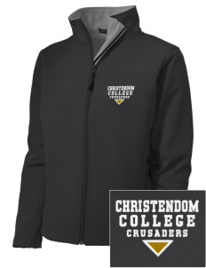 Christendom College Crusaders Embroidered Women's Soft Shell Jacket