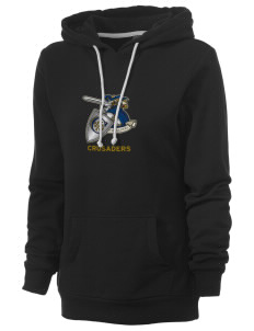 Christendom College Crusaders Women's Core Fleece Hooded Sweatshirt
