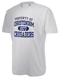 Christendom College Crusaders  Russell Men's NuBlend T-Shirt