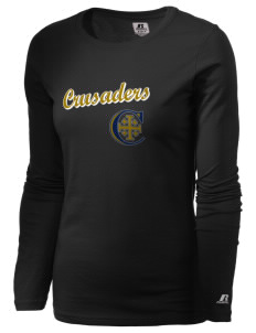 Christendom College Crusaders  Russell Women's Long Sleeve Campus T-Shirt