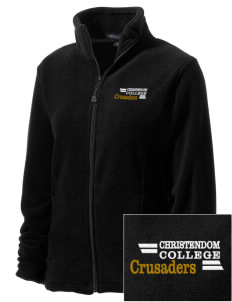 Christendom College Crusaders Embroidered Women's Wintercept Fleece Full-Zip Jacket
