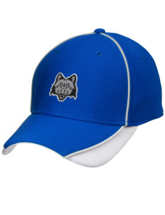 Madison Area Technical College WolfPack Embroidered New Era Contrast Piped Performance Cap