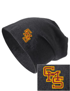 Claremont-Mudd-Scripps Women's Athletics Athenas Embroidered Slouch Beanie