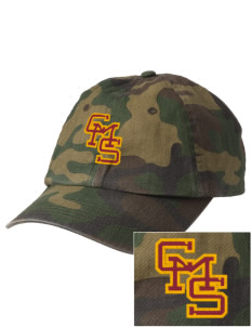 Claremont-Mudd-Scripps Women's Athletics Athenas Embroidered Camouflage Cotton Cap