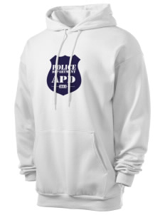 Aledo Police Department Men's 7.8 oz Lightweight Hooded Sweatshirt