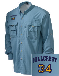 Hillcrest Police Department Embroidered Men's Explorer Shirt with Pockets
