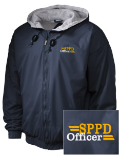 Schiller Park Police Department Embroidered Holloway Men's Hooded Jacket