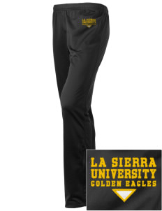 La Sierra University Golden Eagles Embroidered Holloway Women's Contact Warmup Pants