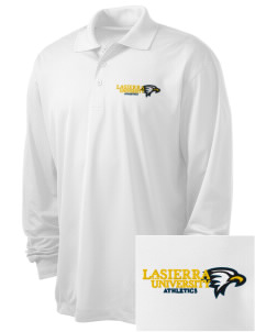 La Sierra University Golden Eagles Embroidered Men's Long Sleeve Micropique Sport-Wick Sport Shirt