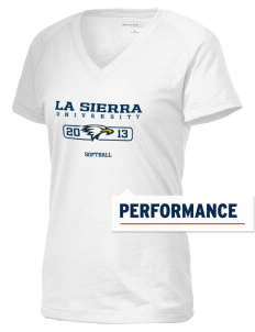 La Sierra University Golden Eagles Women's Ultimate Performance V-Neck