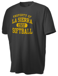La Sierra University Golden Eagles Men's Pigment-Dyed Vintage T-Shirt