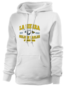 La Sierra University Golden Eagles Russell Women's Pro Cotton Fleece Hooded Sweatshirt