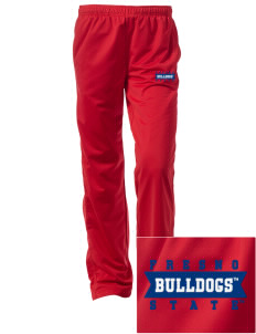 Fresno State Bulldogs Embroidered Women's Tricot Track Pants