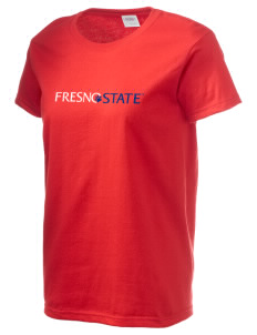 Fresno State Bulldogs Women's 6.1 oz Ultra Cotton T-Shirt