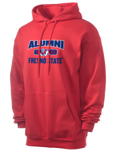 Fresno State Bulldogs Men's 7.8 oz Lightweight Hooded Sweatshirt