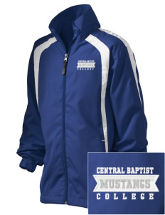 Central Baptist College Mustangs Embroidered Kid's Color Block Jacket