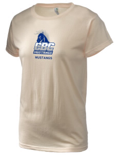 Central Baptist College Mustangs Women's Organic Cotton T-Shirt