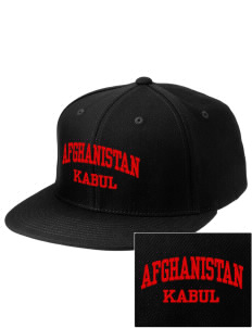Afghanistan Embroidered Diamond Series Fitted Cap