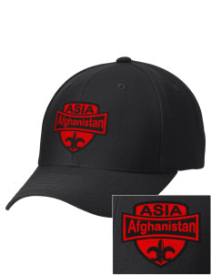 Afghanistan Embroidered Wool Adjustable Cap