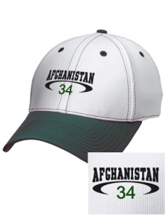 Afghanistan Embroidered New Era Snapback Performance Mesh Contrast Bill Cap