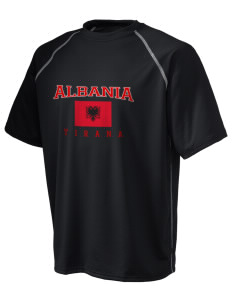 Albania Holloway Men's Vapor Performance T-Shirt