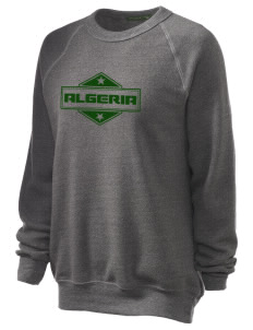 Algeria Unisex Alternative Eco-Fleece Raglan Sweatshirt