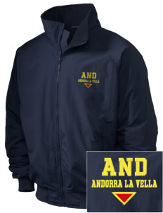 Andorra Embroidered Holloway Men's Tall Jacket