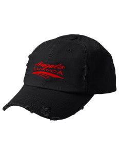 Angola Embroidered Distressed Cap