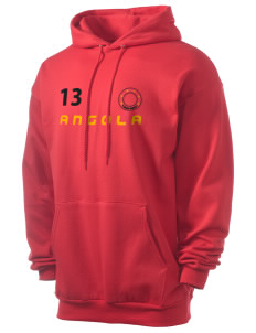 Angola Men's 7.8 oz Lightweight Hooded Sweatshirt